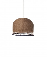 KOMPLET | Lampa pleciona BRAIDED LAMPSHADE - niska