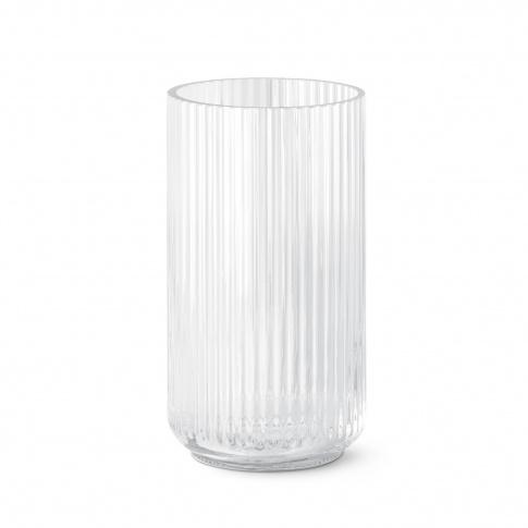 Fotografia, na której jest Wazon szklany bezbarwny - 20 cm - Lyngby