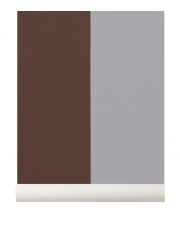 Tapeta skandynawska THICK LINES Bordeaux/Grey - ferm LIVING