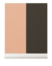 Tapeta skandynawska THICK LINES Green/Rose - ferm LIVING