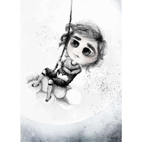 Fotografia, na której jest Plakat 50x70 - Mojo Graffi | ADI