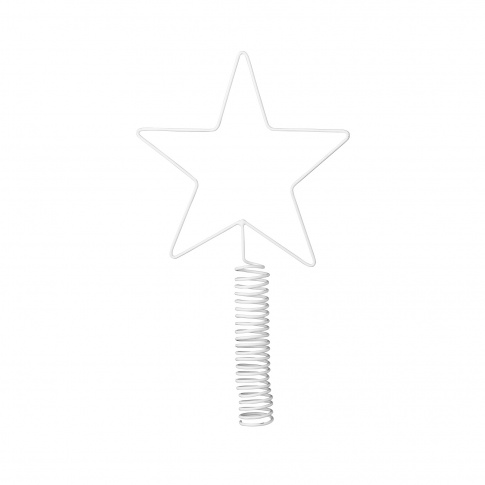 Fotografia, na której jest Czubek biała gwiazda - Bloomingville