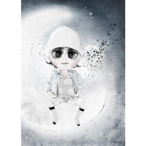 Fotografia, na której jest Plakat 50x70 - Mojo Graffi | FIFKO