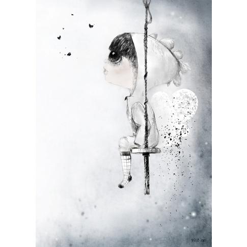 Fotografia, na której jest Plakat 50x70 - Mojo Graffi | MITAL