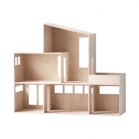 Fotografia, na której jest Domek dla lalek Miniaturowy FUNKIS - ferm LIVING | Duży
