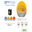 Fotografia, na której jest Termometr Gro-Egg, Gro Company