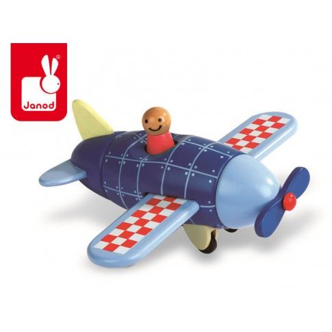 Fotografia, na której jest Samolot drewniany magnetyczny - JANOD