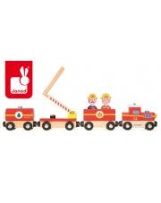 Straż pożarna pociąg drewniany - JANOD