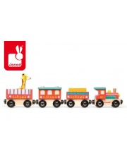 Cyrk pociąg drewniany - JANOD