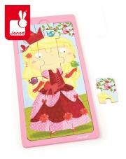Puzzle drewniane Księżniczka Jessica - JANOD