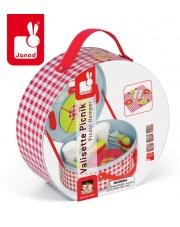 Zestaw piknikowy w walizeczce z 21 akcesoriami - JANOD