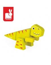 Tyranosaurus drewniany do złożenia - JANOD