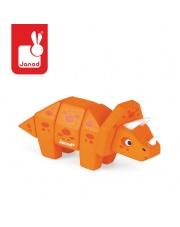Triceratops drewniany do złożenia - JANOD