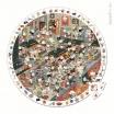 Fotografia, na której jest Puzzle obserwacyjne w walizce Restauracja - JANOD