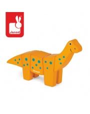 Brachiozaur drewniany do złożenia - JANOD