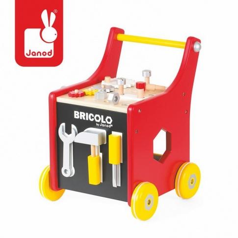 Fotografia, na której jest Wózek warsztat magnetyczny z narzędziami Bricolo - JANOD