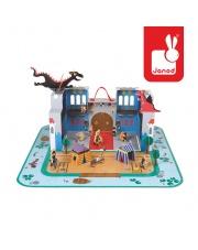 Zamek rycerski w walizce - JANOD