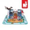 Fotografia, na której jest Zamek rycerski w walizce - JANOD
