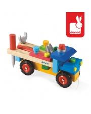 Ciężarówka do składania drewniana duża - JANOD