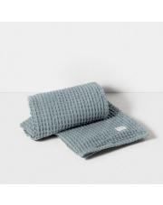 Ręcznik kąpielowy - niebieski / dusty blue - ferm LIVING