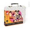 Fotografia, na której jest Zestaw artystyczny Origami Kolorowe zwierzątka - JANOD