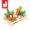 Fotografia, na której jest Warzywa drewniane 12 szt. w skrzyneczce - JANOD