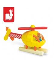 Helikopter drewniany magnetyczny - JANOD