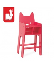 Krzesełko dla lalek Babycat - JANOD