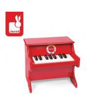 Czerwone pianino Confetti - JANOD