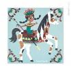 Fotografia, na której jest Zestaw artystyczny Magiczny brokat Świat koni - JANOD