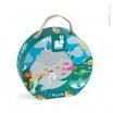 Fotografia, na której jest Puzzle w walizce Ocean - JANOD