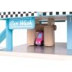 Fotografia, na której jest Stacja benzynowa garaż drewniany z 8 elementami - JANOD