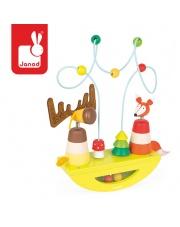 Platforma edukacyjna Łoś i lisek Baby Forest - JANOD