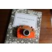 Fotografia, na której jest Drewniany aparat fotograficzny z dźwiękami - JANOD