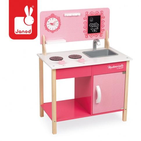 Fotografia, na której jest Kuchnia drewniana Mademoiselle - JANOD