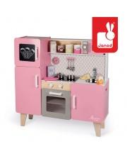 Kuchnia drewniana XL z dźwiękiem i 15 akcesoriami Macaron - JANOD
