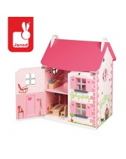 Domek dla lalek z 11 meblami - JANOD