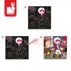 Fotografia, na której jest Zestaw artystyczny Karty do zdrapywania Bajka o Kopciuszku - JANOD