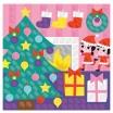 Fotografia, na której jest Zestaw artystyczny Karty z naklejkami Uroczystości rodzinne - JANOD