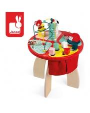 Stolik edukacyjny duży drewniany Baby Forest - JANOD