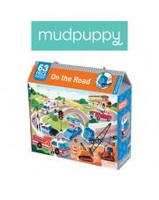 Mudpuppy Puzzle  Na drodze 63 elementy 4+