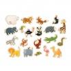 Fotografia, na której jest Mudpuppy Zestaw magnesów Zwierzęta z zoo 20 elementów