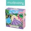 Fotografia, na której jest Mudpuppy Puzzle podłogowe Jumbo Zamek księżniczki 25 elementów 2+