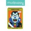 Fotografia, na której jest Mudpuppy Kolorowanka piksele Potwory 6+