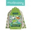 Fotografia, na której jest Mudpuppy Puzzle podróżne w woreczku Zwierzęta świata 36 elementów 3+