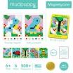 Fotografia, na której jest Mudpuppy Magnetyczne piksele Ogród 6+