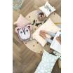Fotografia, na której jest Poduszka DOTS różowa - ferm LIVING