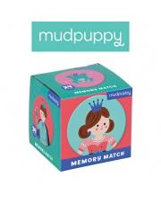 Mudpuppy Gra Mini Memory Księżniczka