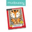 Fotografia, na której jest Mudpuppy Puzzle Patyczki Geometryczne zwierzęta 24 elementy 3+