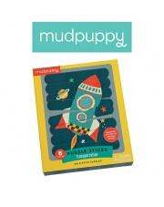 Mudpuppy Puzzle Patyczki Środki transportu 24 elementy 3+
